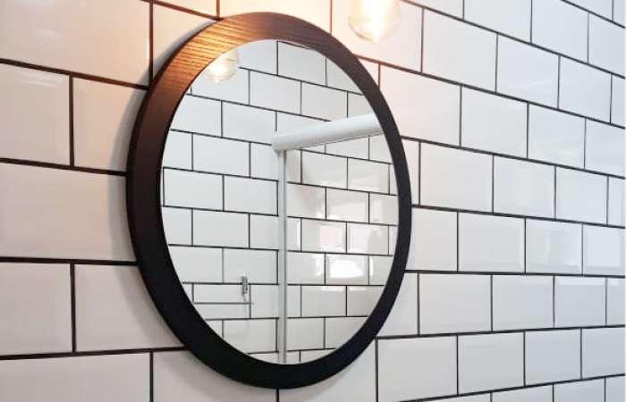 Espellho Redondo para Banheiro Pequeno
